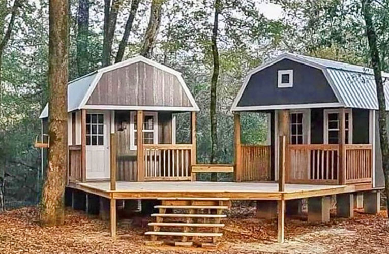 The 'We-Shed' Is a Dual Shed For Him and Her In Aledo