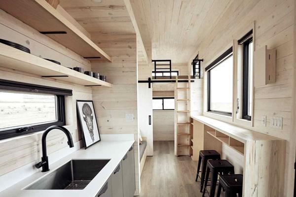 Tiny House Life in Aledo from a Shell Kit